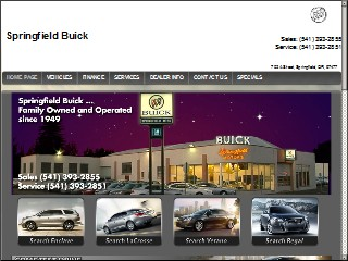 Springfield Buick N A St Springfield Lane Oregon - Buick springfield